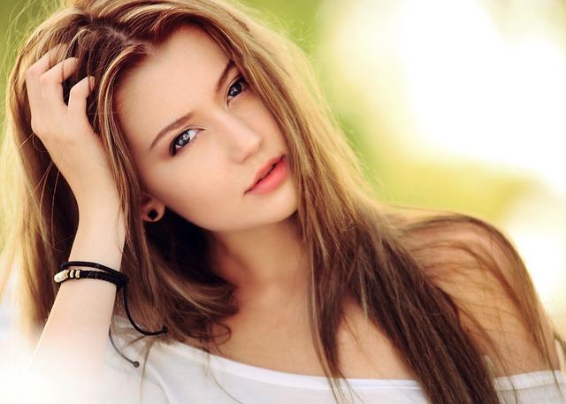 womens hair photo