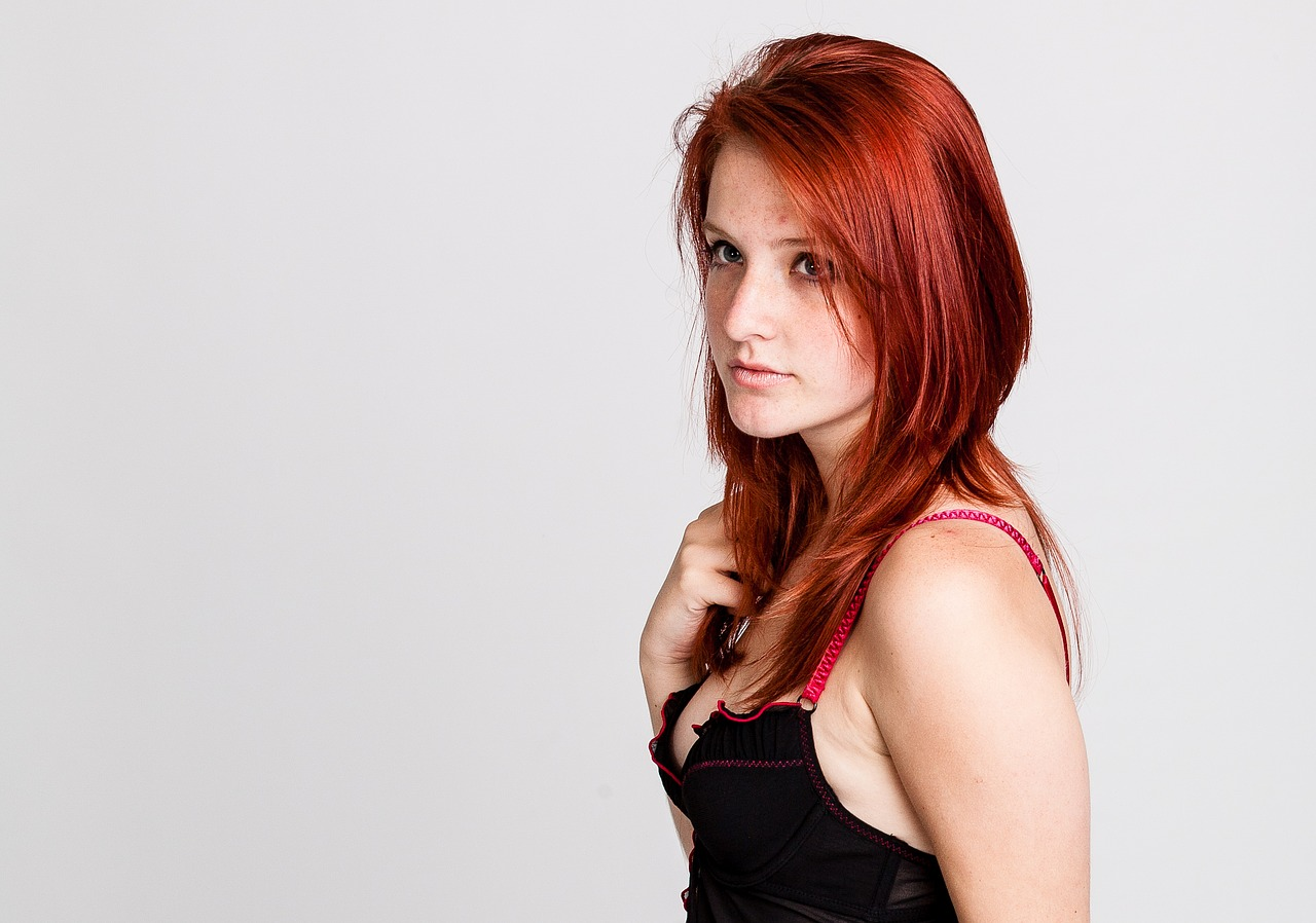 hair red photo